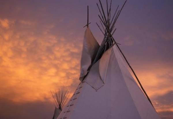 La tipica tenda dei pellerossa