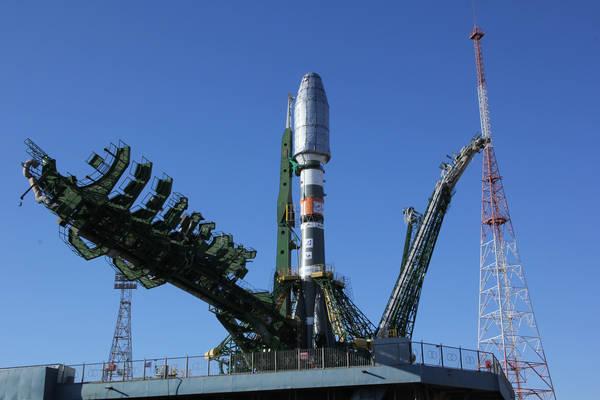 Il satellite MetopB pronto al lancio sulla Soyuz (fonte: Eumetsat/ESA)