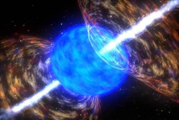 Nel Medioevo la Terra potrebbe essere stata colpita dalle radiazioni generate da una esplosione di lampi gamma (fonte: NASA / SkyWorks Digital)