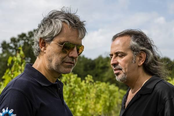 Andrea Bocelli e il fratello Alberto