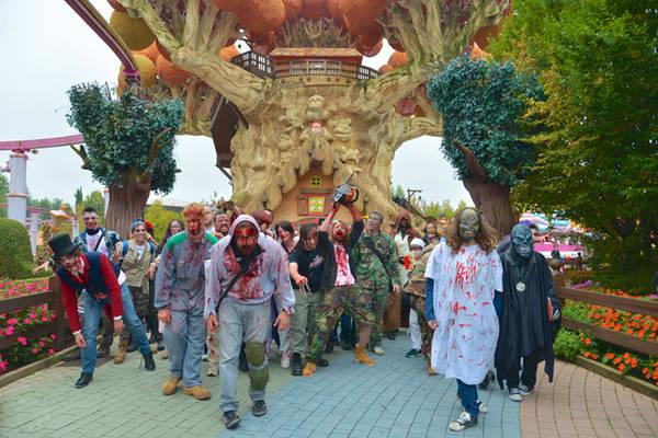 Halloween A Gardaland.Halloween All Italiana Fra Castelli E Acquari Ansa It