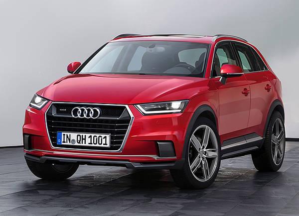 Audi Q1 La Nuova Mini Crossover Arriver 224 Nel 2016 Prove