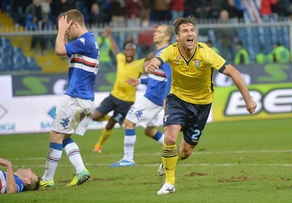 Cana agguanta il pareggio in zona Cesarini. Sampdoria Lazio 1-1