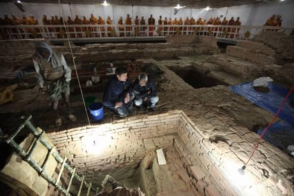 Buddha nacque in un tempio di legno del VI secolo a.C.