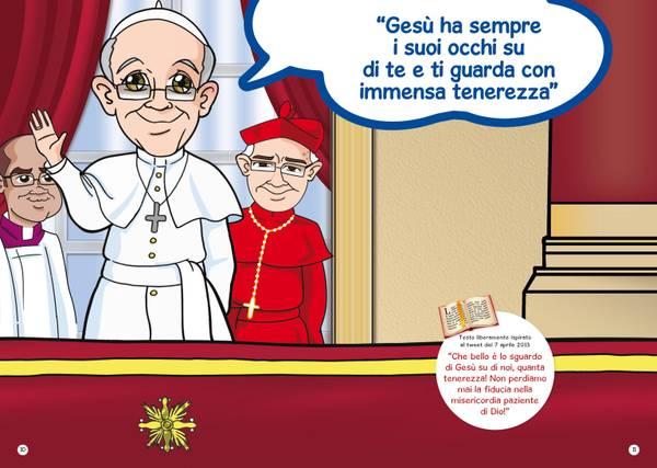 Papa Francesco a fumetti