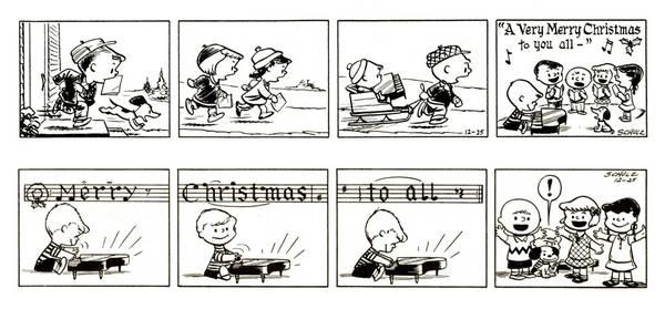 Immagini Natale Linus.Auguri Di Natale A Fumetti Ecco Le Striscie Piu Divertenti