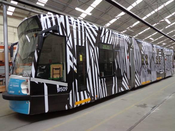 A Melbourne l'arte gira in tram