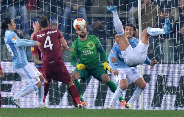 Lazio un pareggio inutile, col Trabzonspor finisce 0 a 0