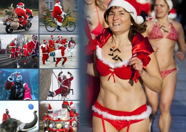 Ecco come arriva Babbo Natale