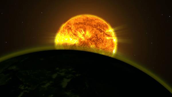 Il telescopio spaziale Hubble ha scoperto tracce di acqua nell'atmosfera di cinque pianeti esterni al Sistema Solare (fonte: NASA's Goddard Space Flight Center)