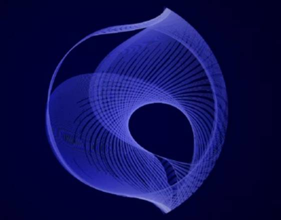 Le curve ottenute dai movimenti del pulsar vela visti dal telescopio Fermi (fonte: NASA)