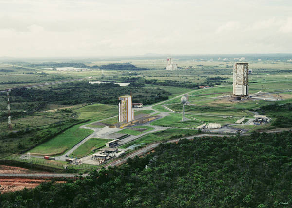 La base di lancio di Vega a Kourou, nella Guyana Francese (fonte: ESA)