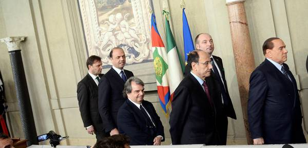 Berlusconi al quirinale da napolitano photostory for Gruppi parlamentari