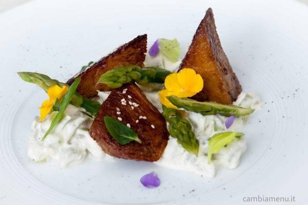 Prosciutto d oro e asparagi con pancetta al macro - Cucina gourmet ricette ...