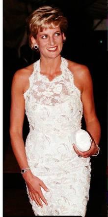 La principessa Diana in una foto del 1996
