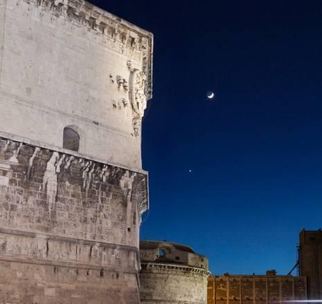 Luna e Venere (fonte: Marco Meniero, http://meniero.it)