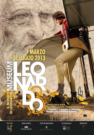 Leonardo3 Il Mondo di Leonardo, la mostra allestita nelle p