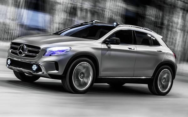 Mercedes a shanghai debutta il suv compatto gla prove e for Auto prossime uscite