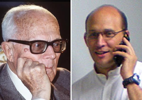 Nella combo, Sandro Pertini e il nipote Padre Miguel Pertini
