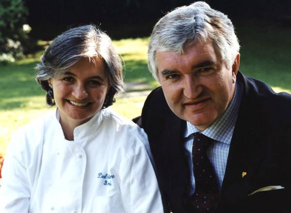 Nadia Santini col marito