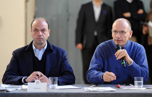 Governo, Letta: la priorit  il lavoro. Alfano: faremo solo riforme condivise