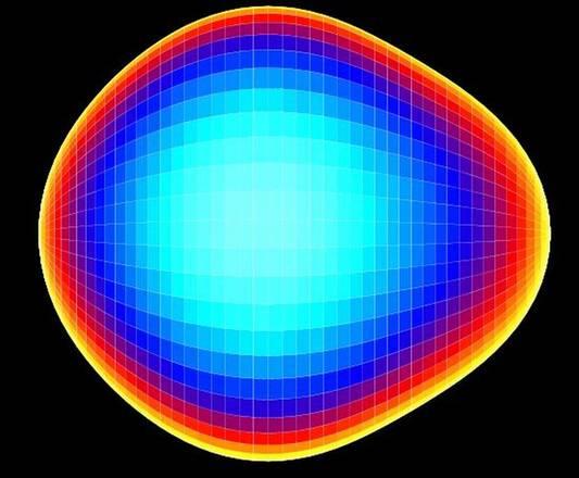 L'atomo dal nucleo a forma di pera