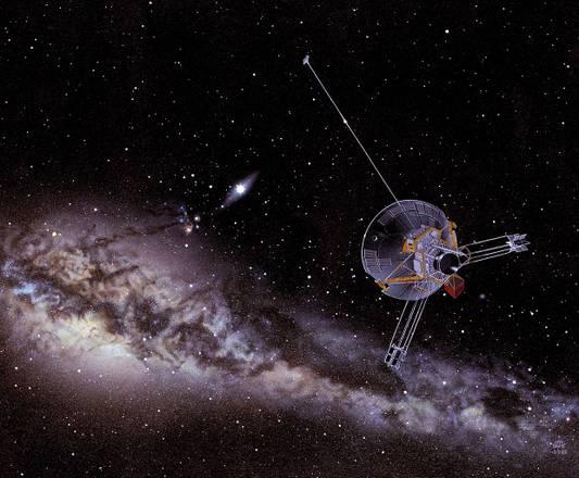 30 anni fa il primo 'salto' fuori dal Sistema Solare