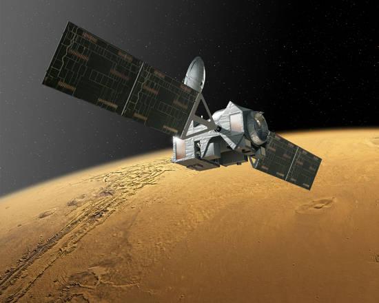 Il Trace Gas Orbiter (Tgo) della missione ExoMars (fonte: ESA)