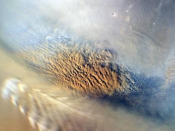 Tempeste di povere su Marte (fonte: NASA)