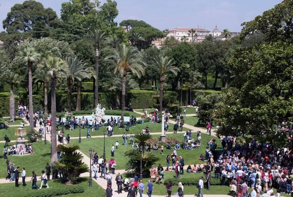 Due giugno boom visite a giardini quirinale photostory primopiano - I giardini del quirinale ...