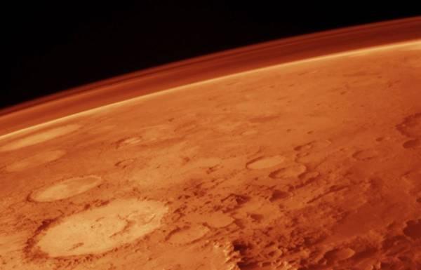4 miliardi di anni fa l'atmosfera di Marte era ricca di ossigeno (fonte: NASA)