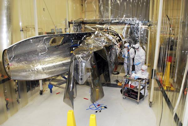 Il satellite della Nasa Iris (fonte: VAFB/Rnady Beaudoin)
