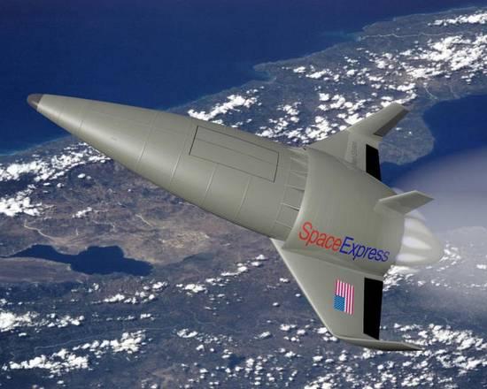 La propulsione ibrida sarà la chiave per voli nello spazio più sicuri e confortevoli (fonte: NASA)