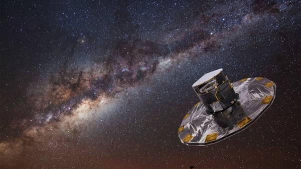 Rappresentazione artistica della missione europea Gaia (fonte: ESA)
