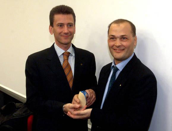 Walter Visigalli e il chirurgo Marco Lanzetta