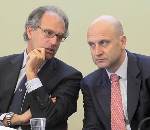 Andrea Clavarino (a sinistra)