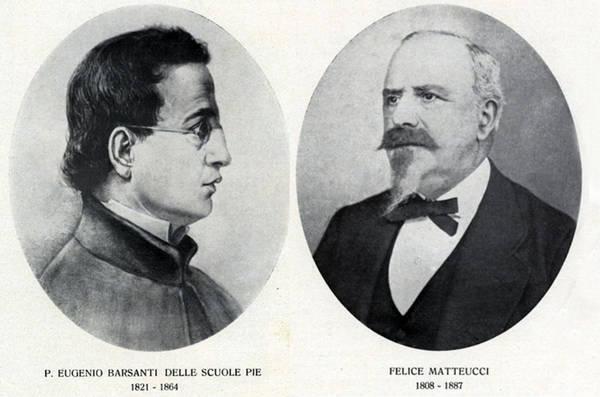 Eugenio Bersanti e Felice Matteucci