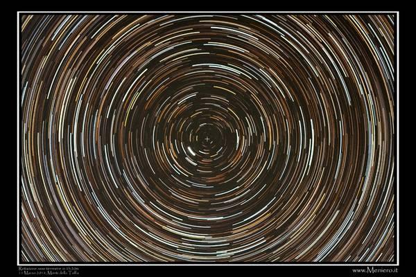 Star Trail, foto di Marco Meniero (fonte: Marco Meniero, www.meniero.it)