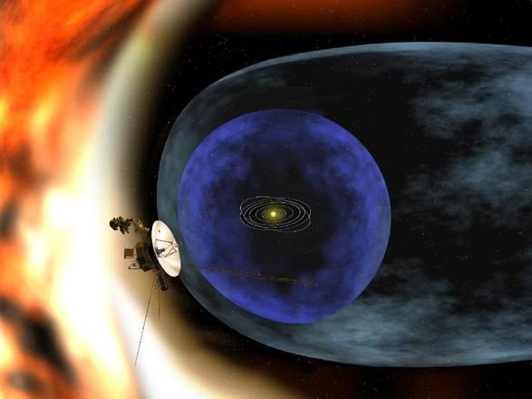 La sonda Voyager 1 in una zona sconosciuta ai confini del Sistema Solare (fonte: NASA)