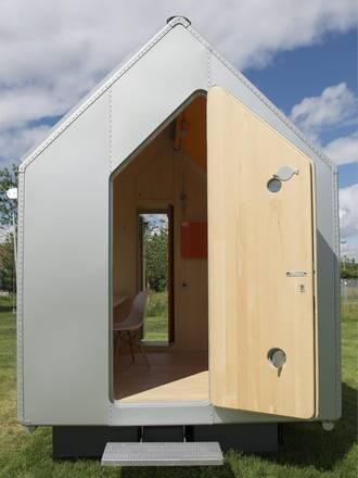 Grognards diogene casa minimalista di piano for Mini casa minimalista