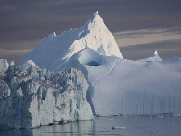 I ghiacci della Groenlandia si sciolgono anche dal basso, per il calore che ricevono dal mantello terrestre (fonte: I.Sasgen, GFZ)