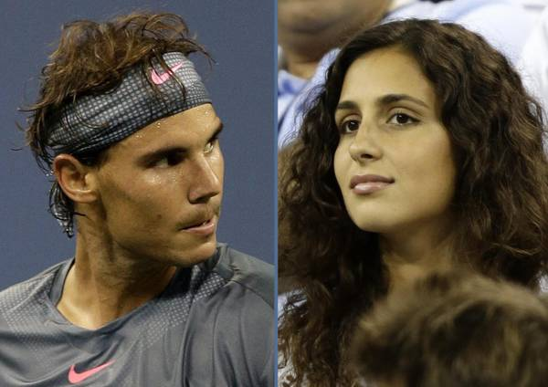 Rafael Nadal e la fidanzata Maria Francisca