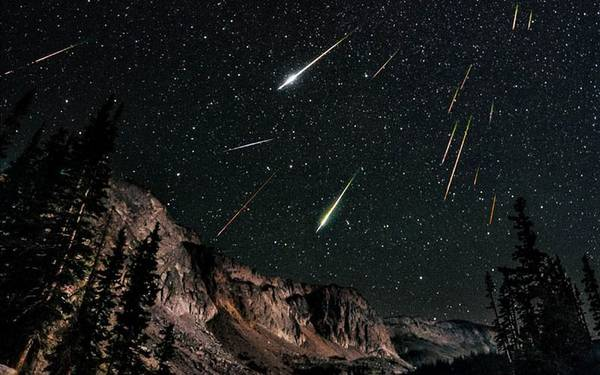 Lo sciame delle Perseidi, le stelle cadenti di agosto (fonte: INAF)