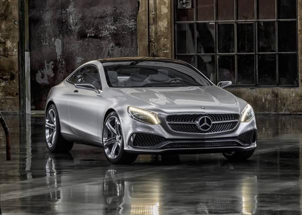 Mercedes Coupè Classe S, arriva avveniristica concept