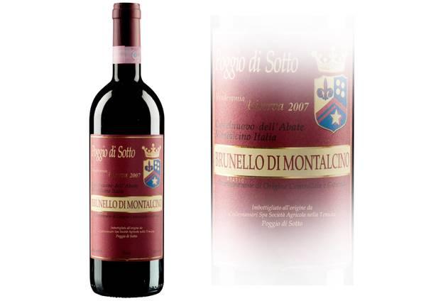 Brunello Poggio Sotto è il vino migliore d'Italia