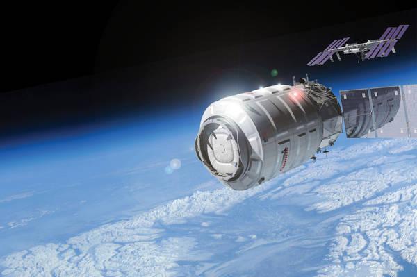 La navetta Cygnus (fonte: Orbital Science)