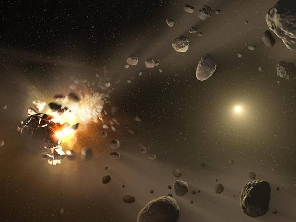 Ricostruita la storia della fascia di asteroidi fra Marte e Giove (fonte: NASA/JPL)