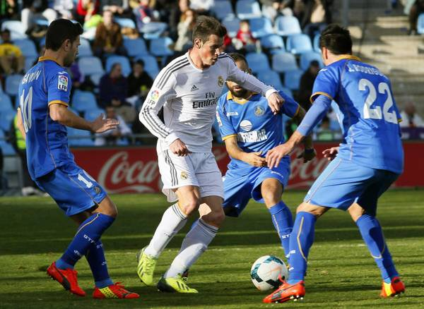 Getafe Real Madrid: Getafe-Real Madrid 0-3
