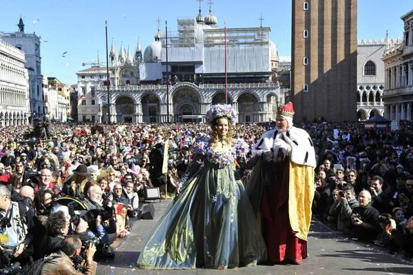 Venezia, in oltre 105 mila per Volo dell'Angelo