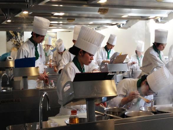 Icif un 39 orangerie per la scuola italiana di alta cucina for Alta cucina italiana